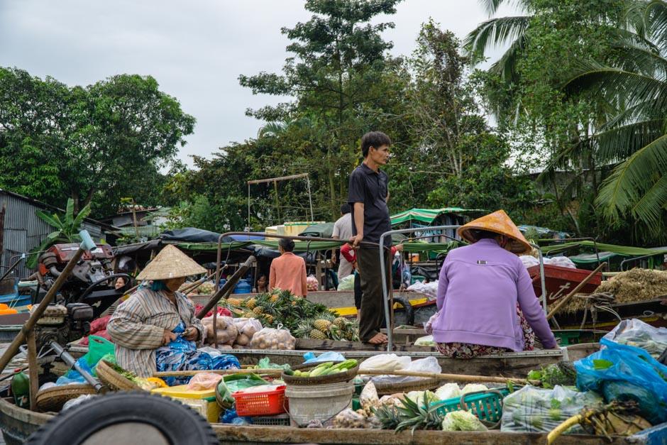 Gewusel auf dem Markt