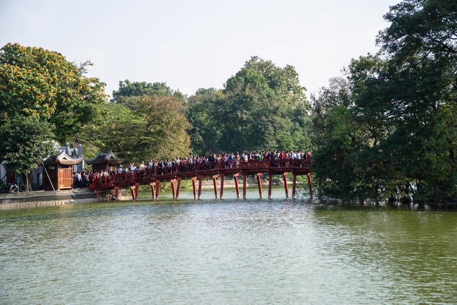 Brücke zum Tempel