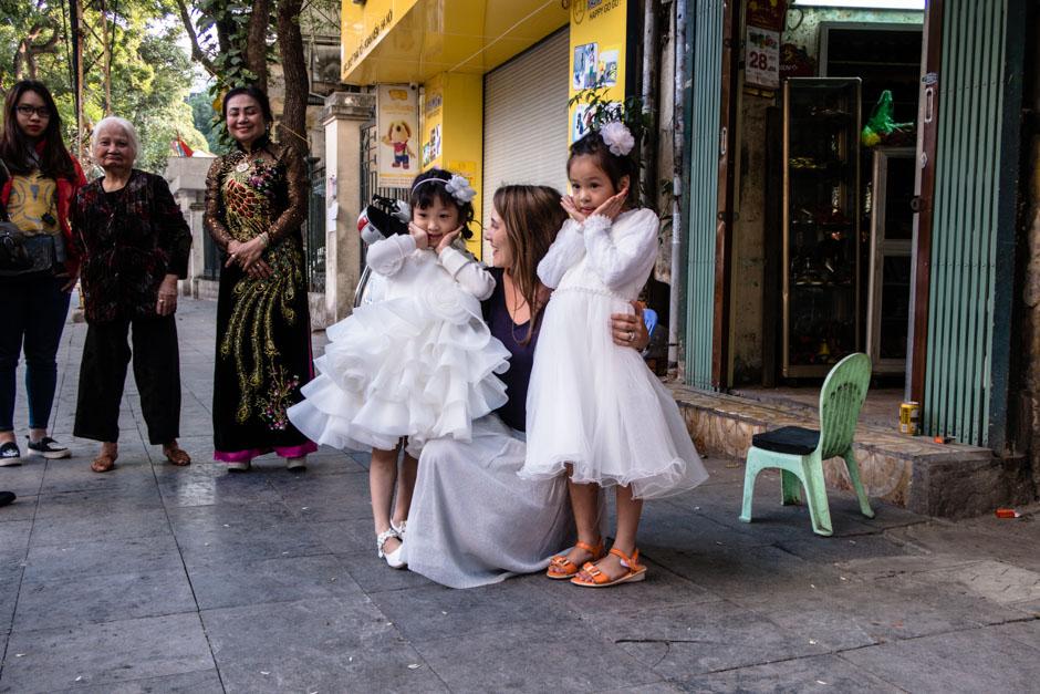 Steffi mit Prinzessinen