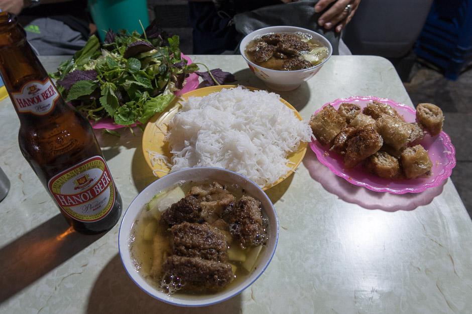 Buncha in Hanoi