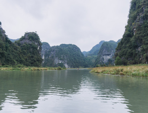 Die trockene Halong Bucht ist garnicht so trocken wie man denkt