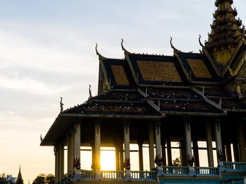 koenigspalast Phnom Penh