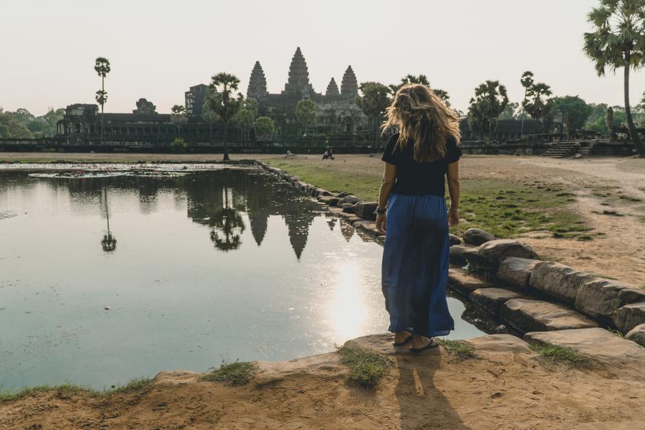 Angkor Wat und Steffi