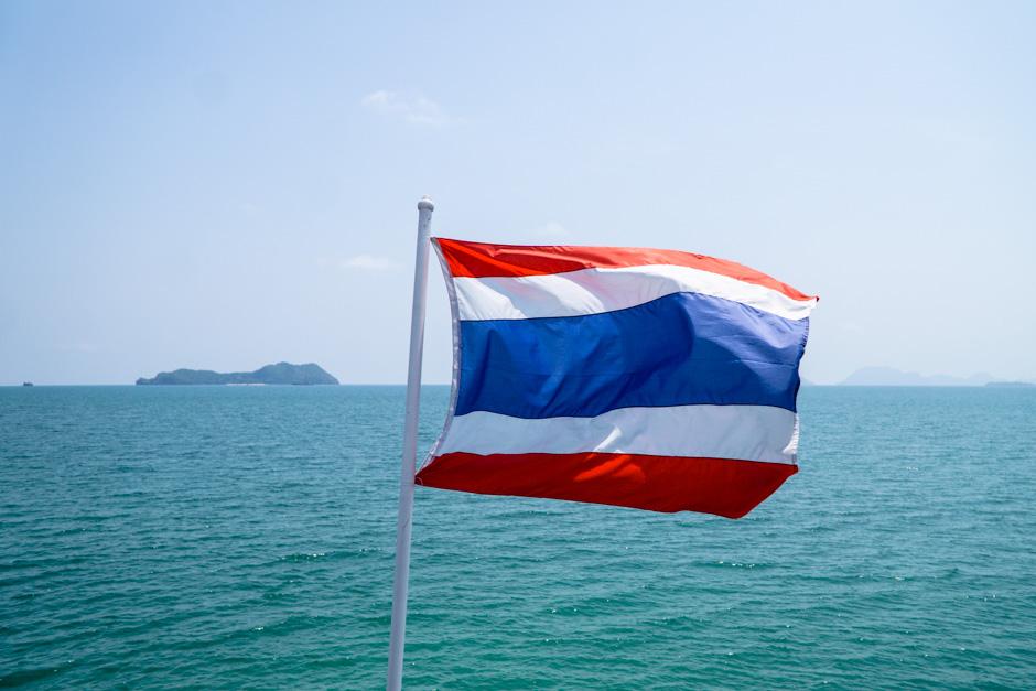 Thailand Fahne