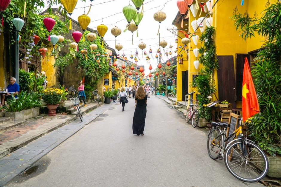 Straßendeko in Hoian