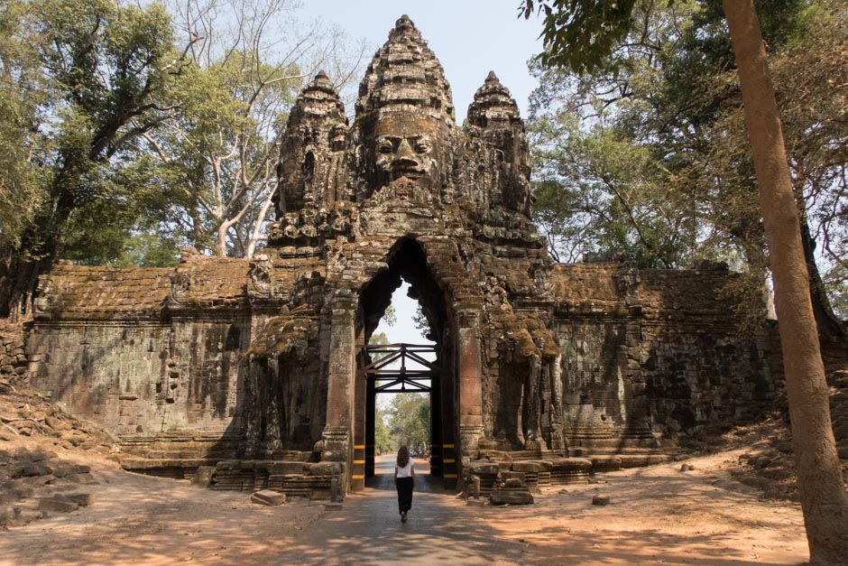 Nordtor von Angkor Thom