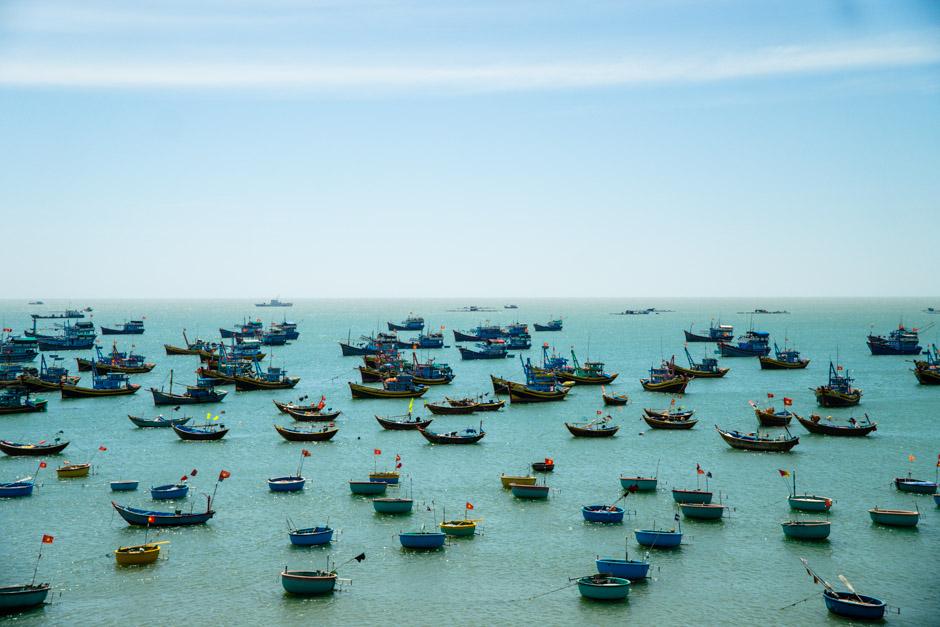 Hafen von Mui Ne