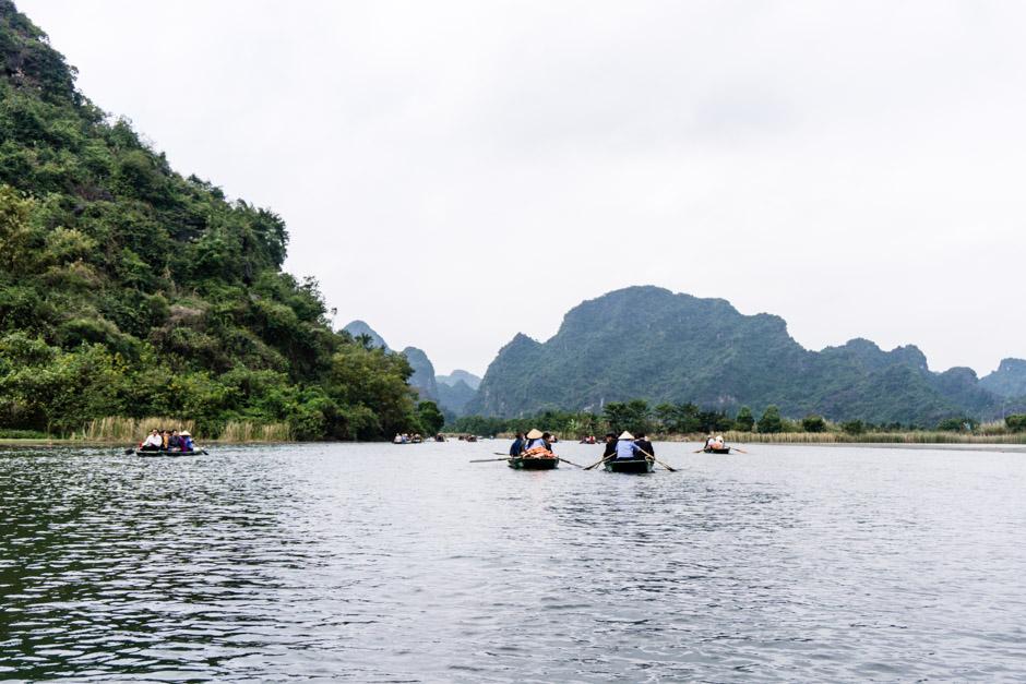 Ninh Binh trockene Halong Bucht