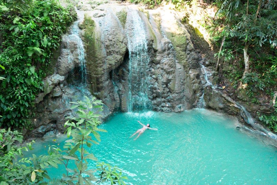 Wasserfall auf Siquijor