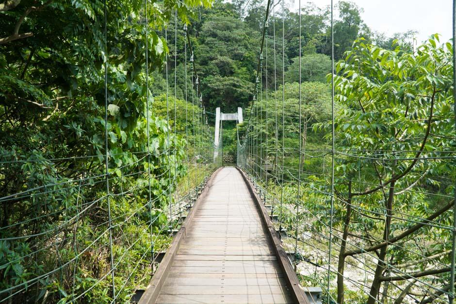 Hängebrücke zum Dakeng No4