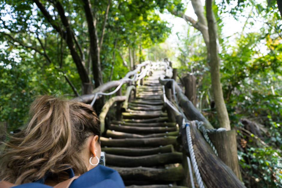 Dakeng Trail Aufstieg