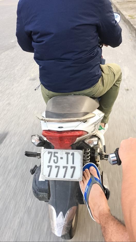 Abschleppen auf Vietnamesisch