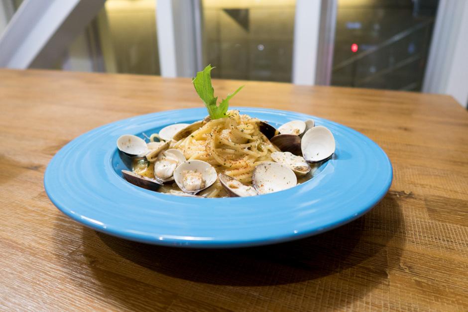 Dinner Muschelpasta