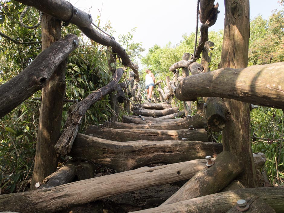 Dakeng Holzbalken
