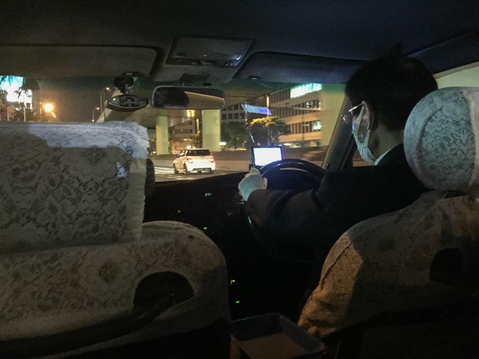 Taxi zum Hostel
