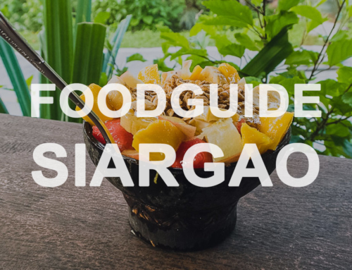 Foodguide Siargao – Surf, eat, sleep, repeat