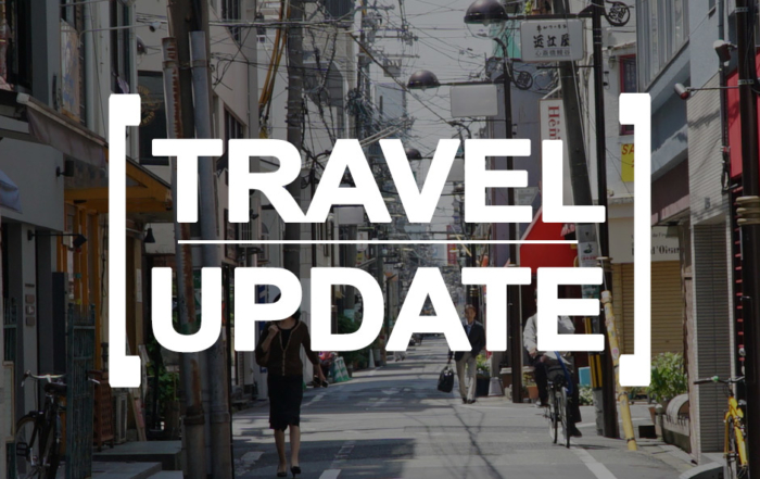 travel update japan