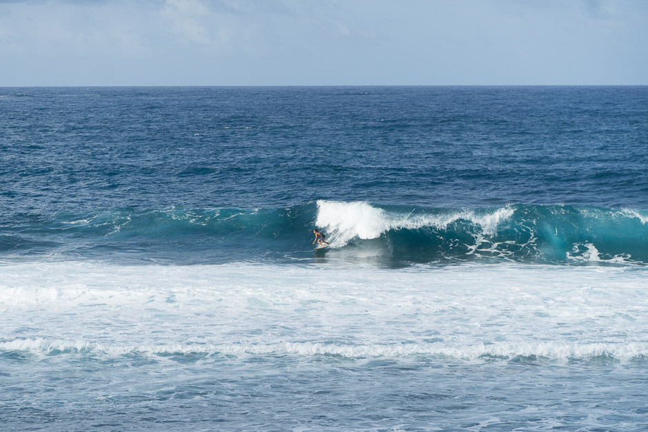Surfer auf Siagaro