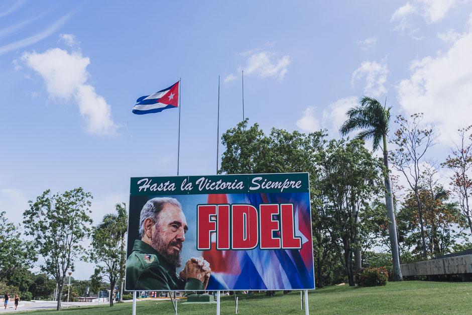 Fidel Plakat Kuba