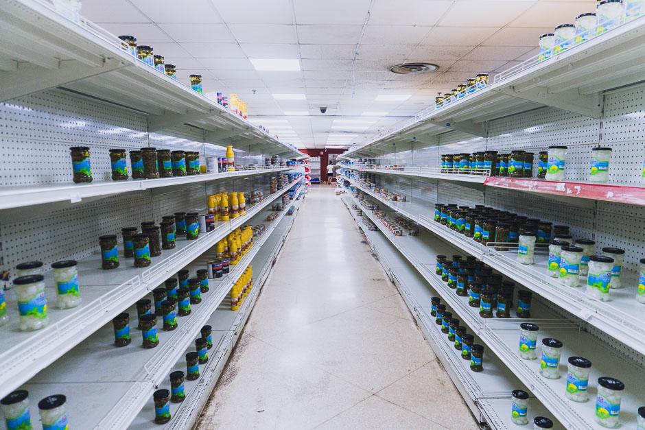 Lebensmittelknappheit auf Kuba