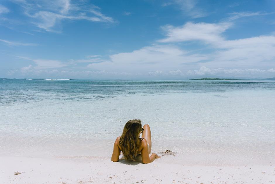 Traumstrand und Meer