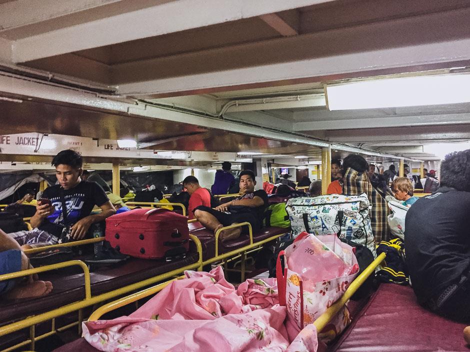 Nachtfähre nach Surigao