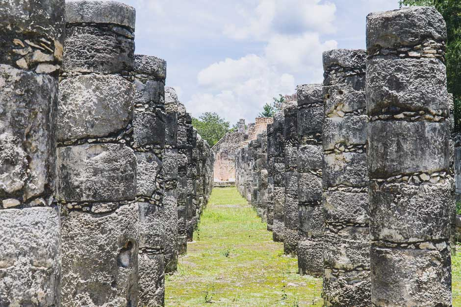 Ruine in Chichen Itza