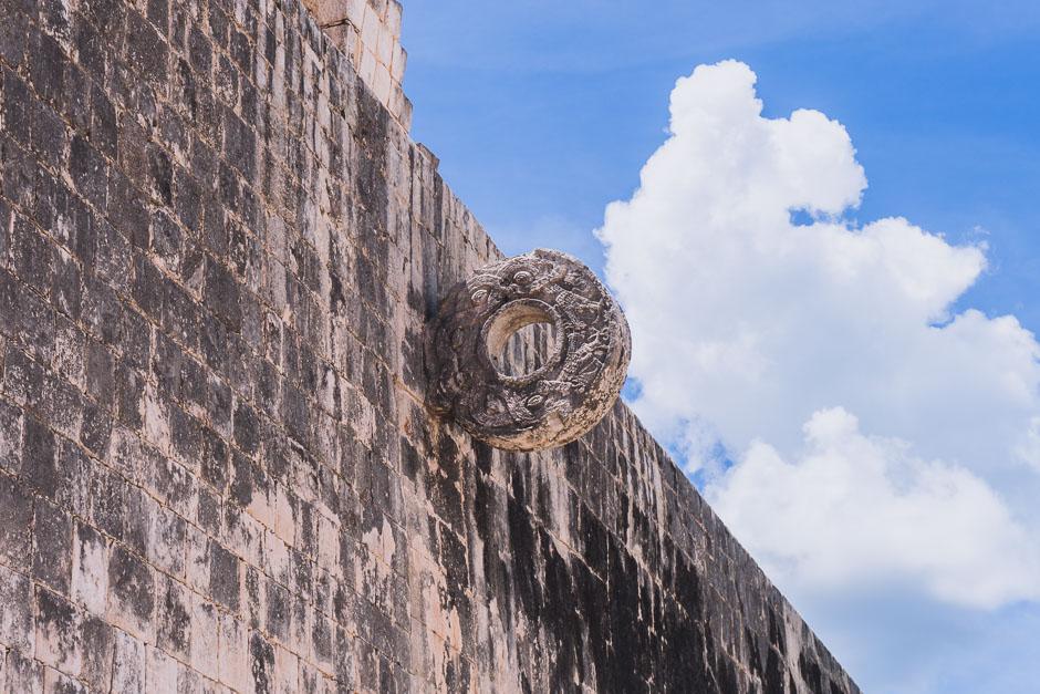 Tor beim Maya-Fussball