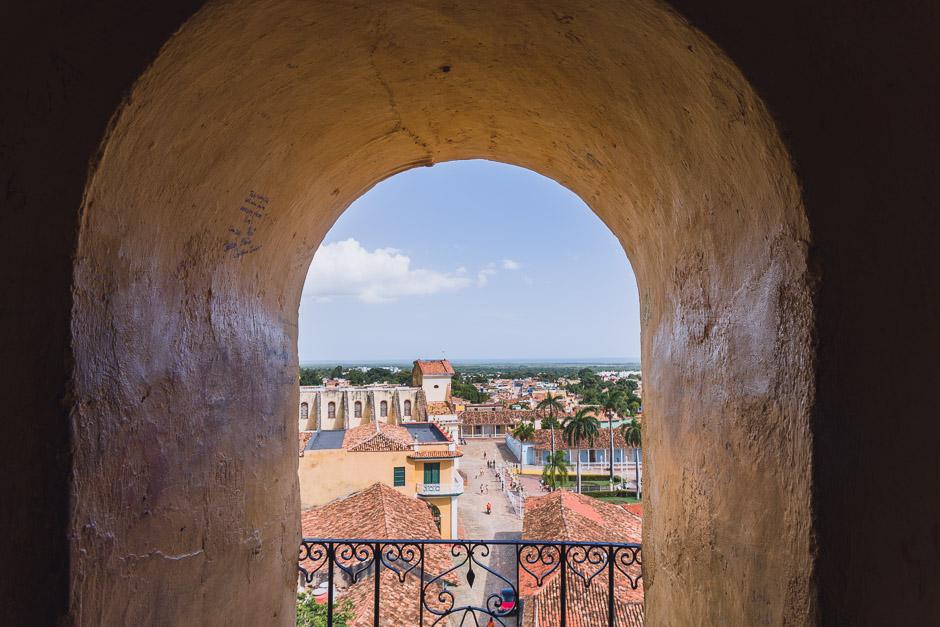 Aussicht auf Trinidad
