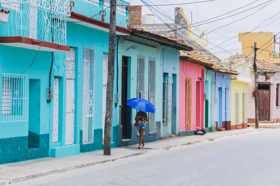 Bunte Häuser von Trinidad