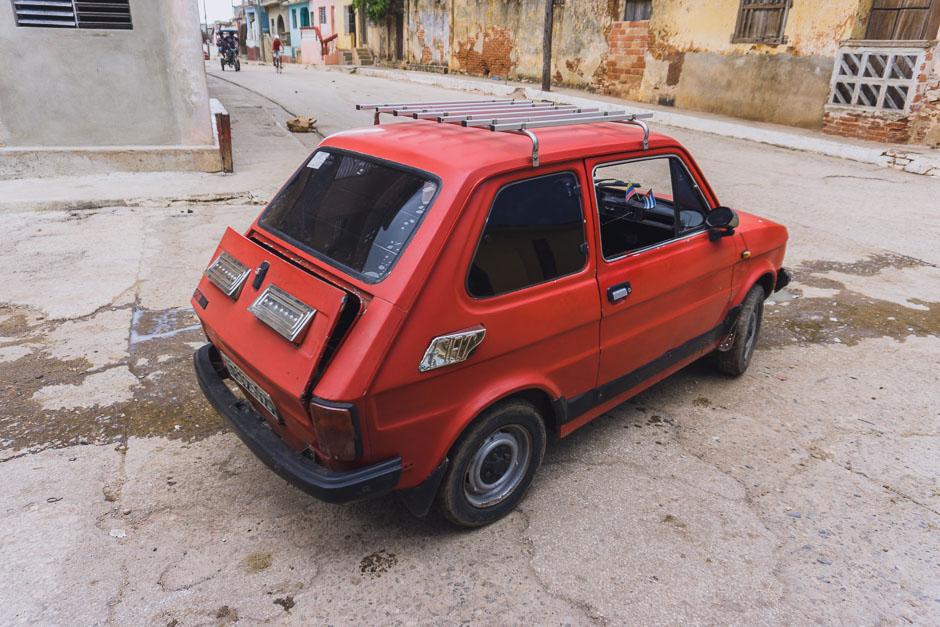 Fiat 500 in Trinidad