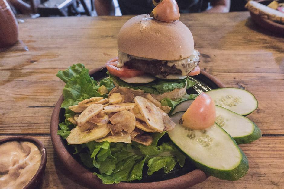 Essen in Trinidad