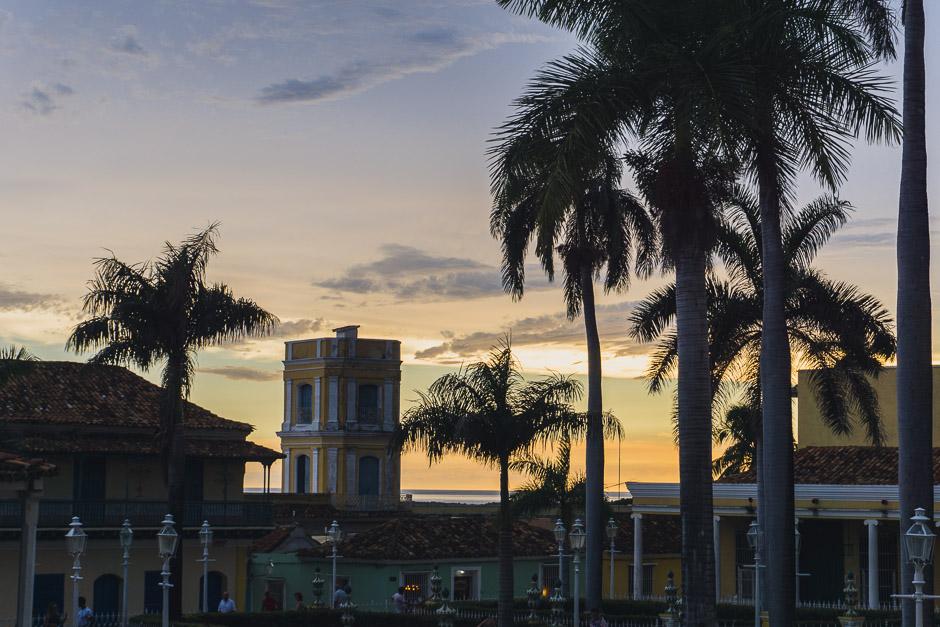 Sonnenuntergang Trinidad