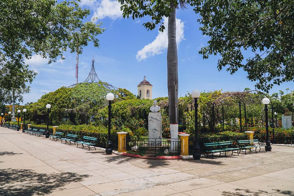 Plaza in Trinidad
