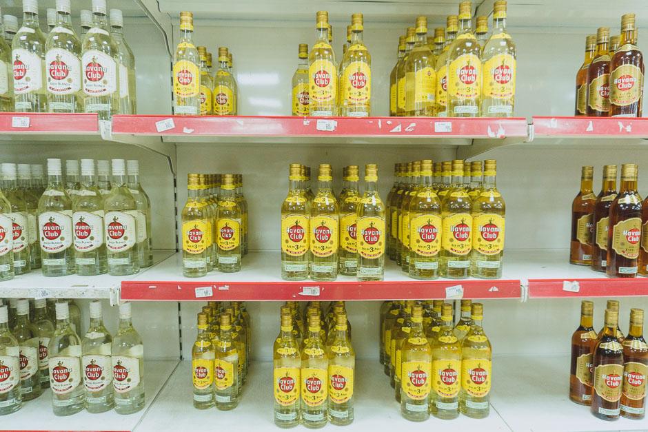Rum gibt es immer auf Kuba