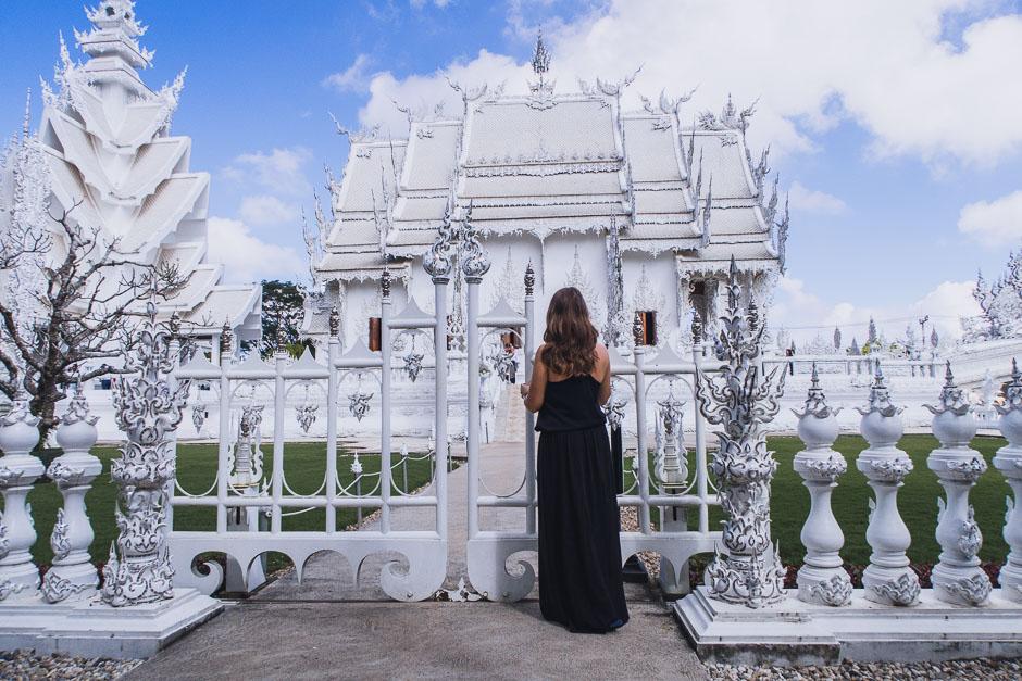 weißer tempel chang rai