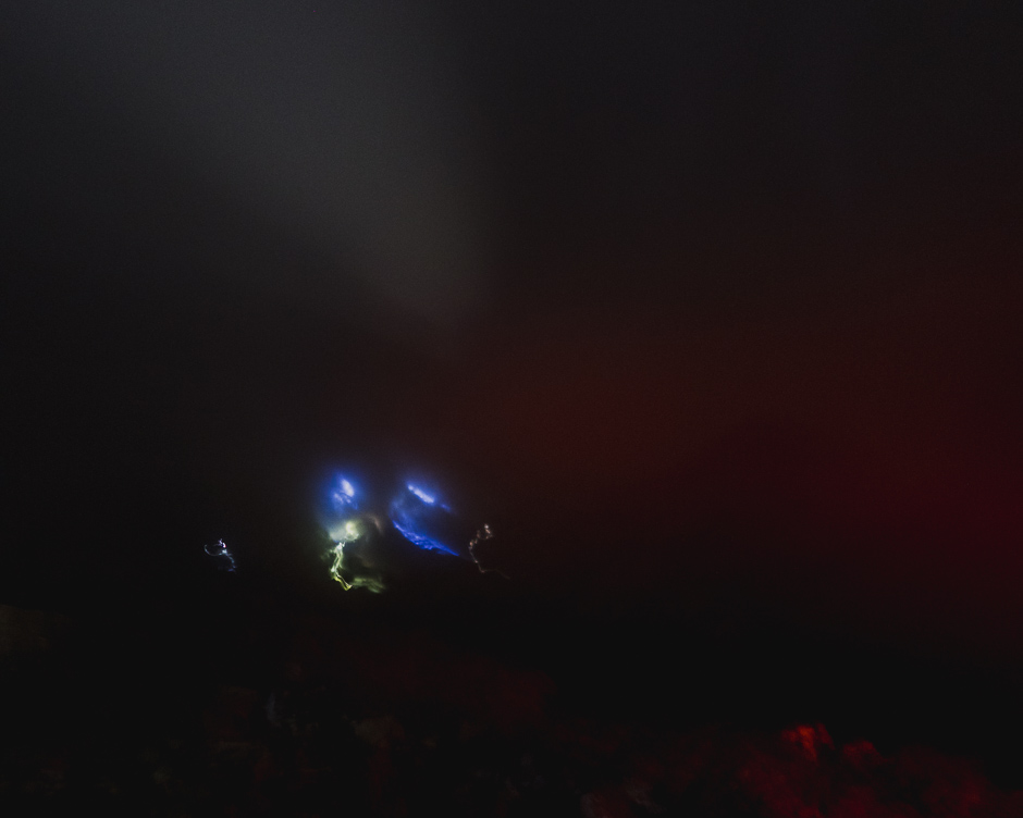 Mount Ijen blaue Feuer