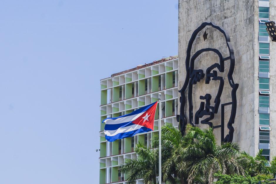 Che Bild in Kuba