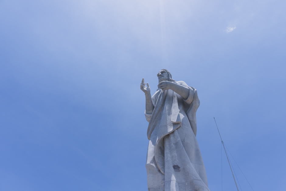 Jesusstatue Havanna