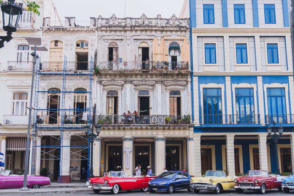 Haeuser in Havanna