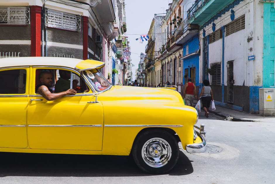 Kuba Taxi fahren
