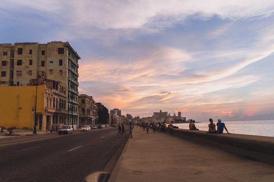 Havanna Sonnenuntergang