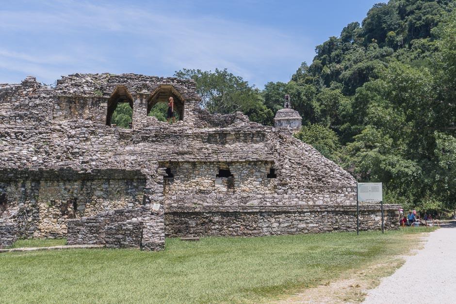 Ruinen im Dschungel von Palenque