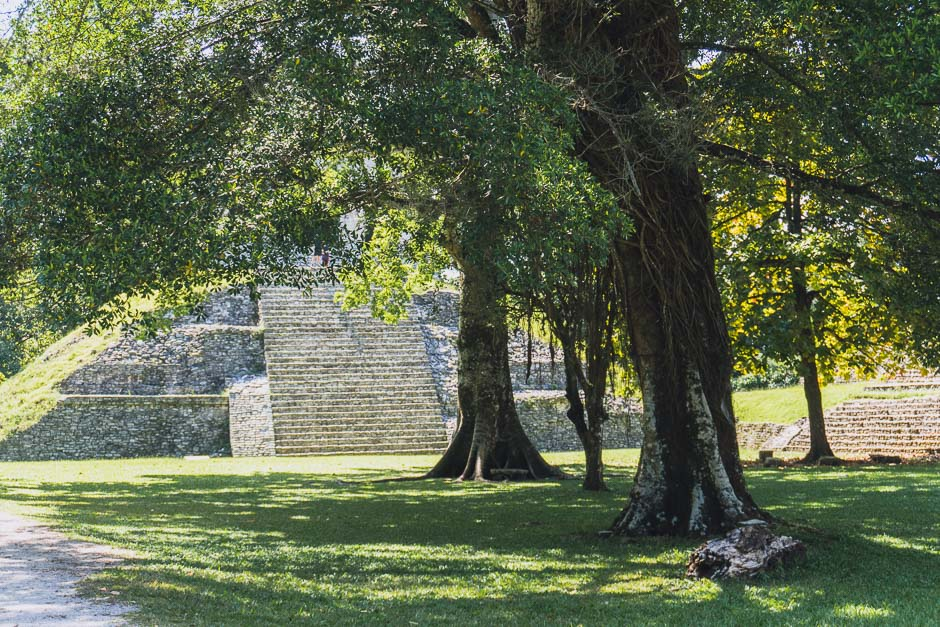 Ausflug Palenque-Ruinen