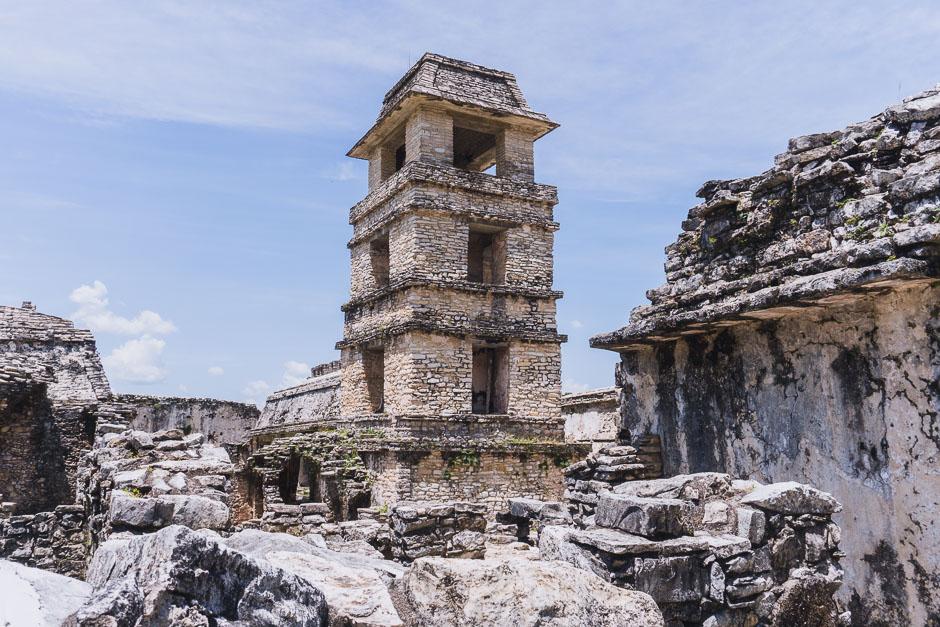 Sehenswuerdigkeiten in Mexiko Palenque