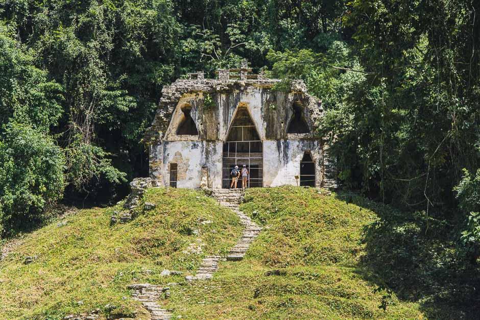 Mayaruinen in Palenque