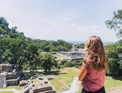 Palenque, Bergstadt mit Jungle-Maya-Feeling