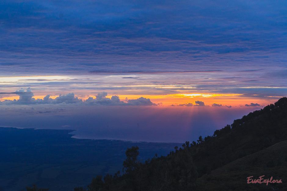 Sonnenaufgang ueber Java