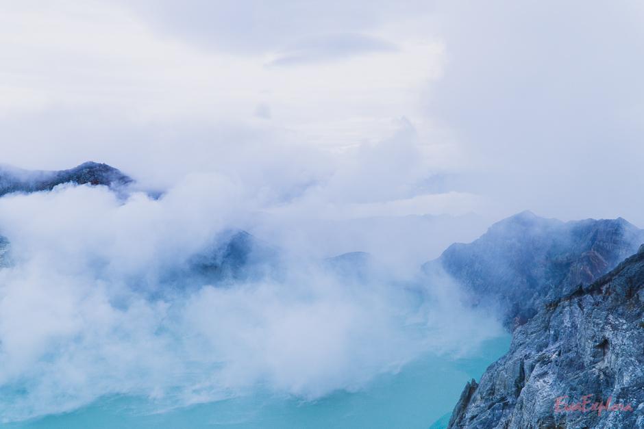 Kratersee Mount Ijen