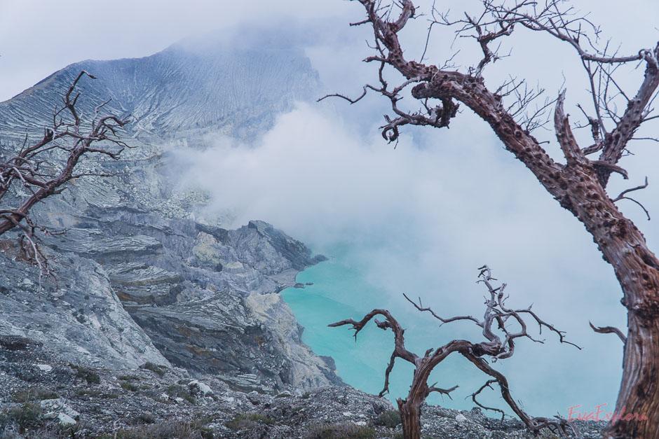 Kratersee Mt Ijen